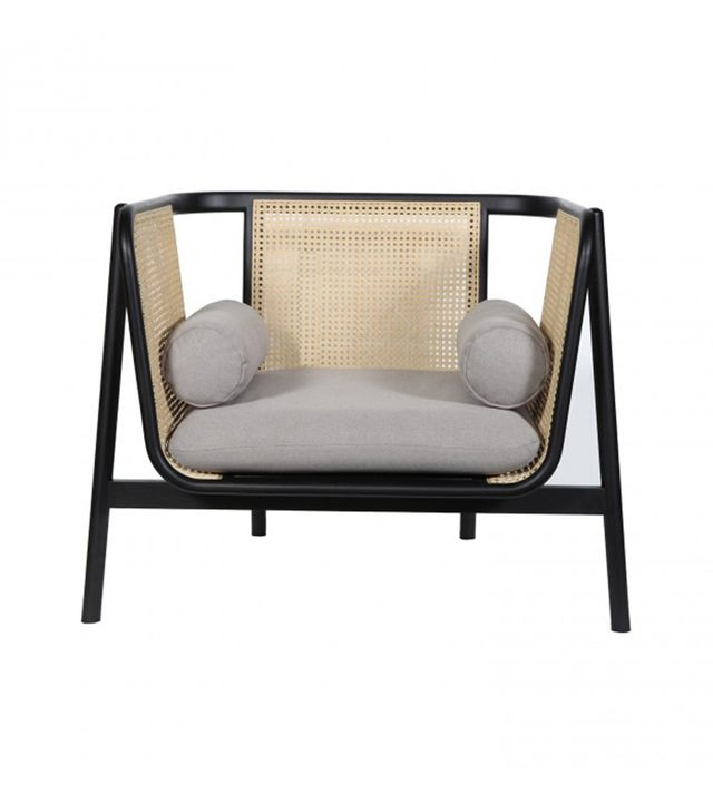 Clickon Furniture Cane Sofa 1 Seater