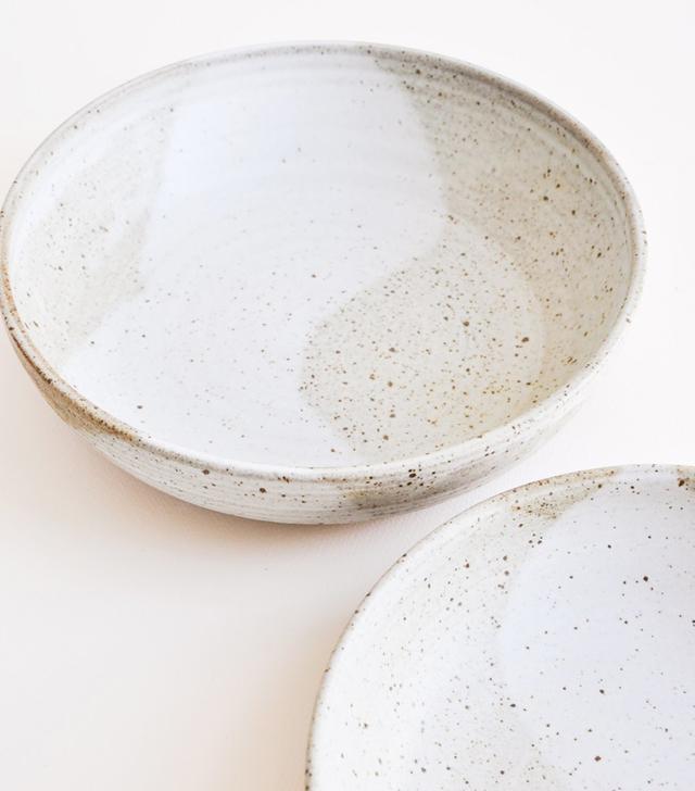 Leif Rustic Ceramic Serving Bowl