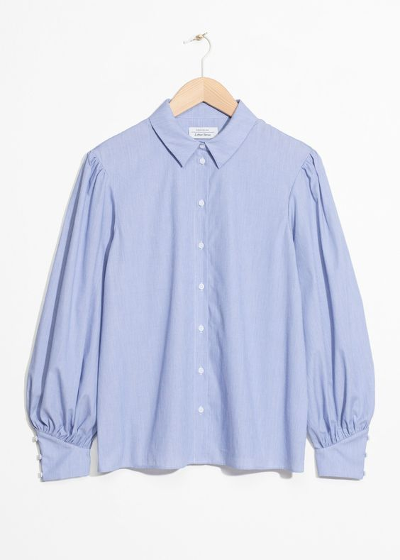 & Other Stories Voluminous Sleeves Blouse