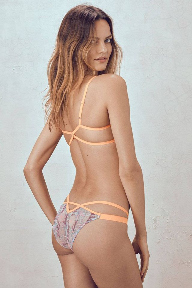 For Love & Lemons Magnolia Strappy Panty