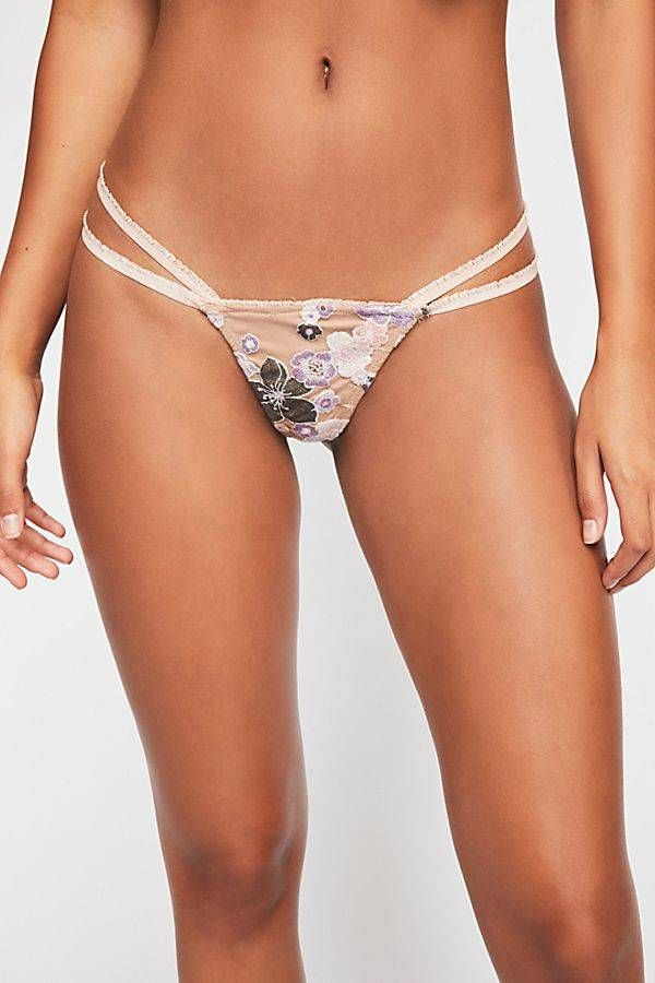 Solid Strappy Tanga by Cosabella at Free People