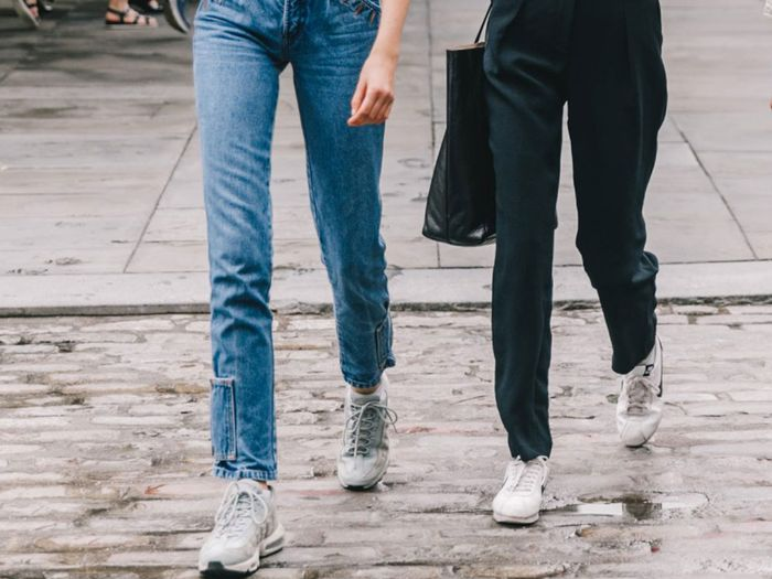 4b5c4f1f6c The New Sneaker Styles That Look Best With Jeans | Who What Wear