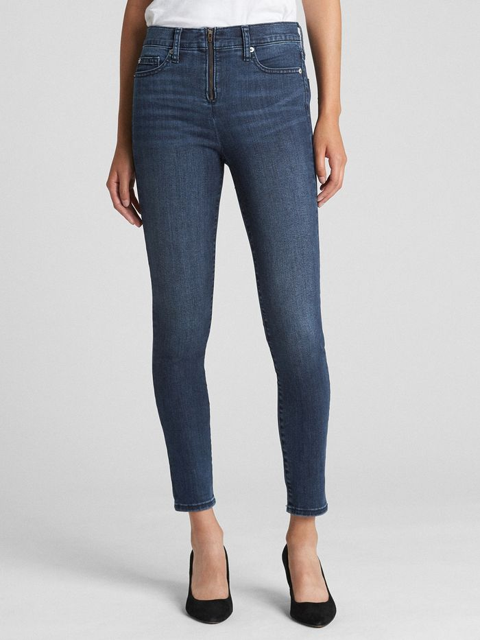 Sarah Jessica Parker Wore Gap Skinny Jeans | Who What Wear