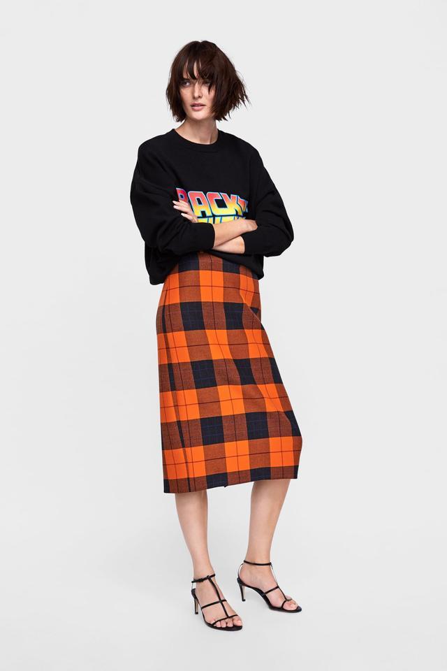Zara skirt outfits