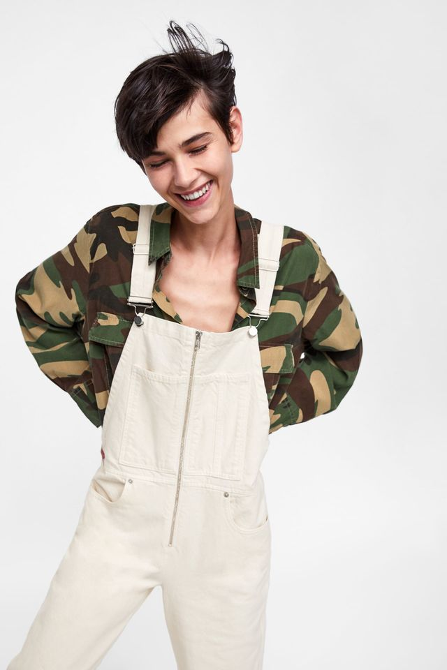 Zara outfits with overalls