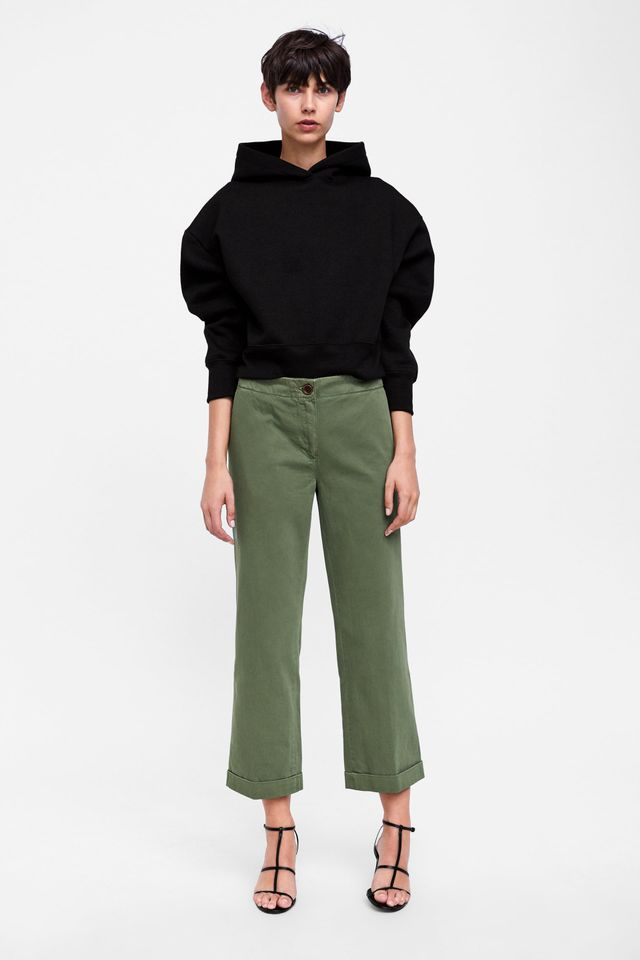 Zara outfits: casual pants