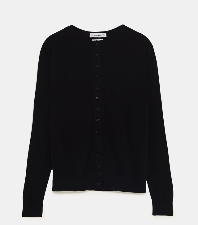 Zara Limited Edition Cardigans With Buttons