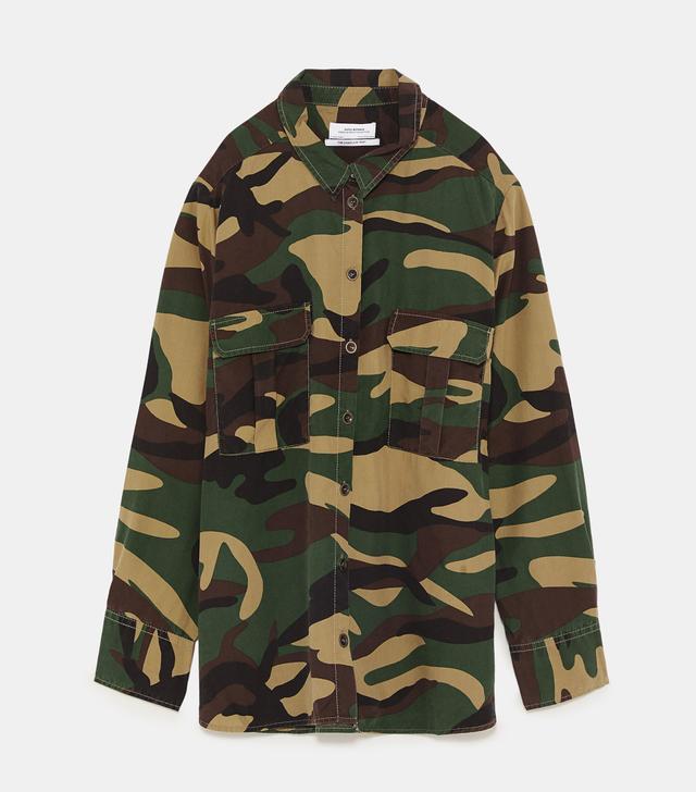Zara ZW Premium Camouflage Shirt