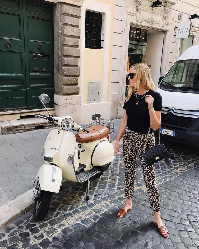 Kristen Nichols in Italy