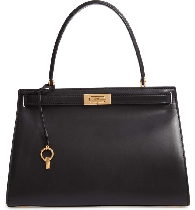 Lee Radziwill Small Leather Satchel -