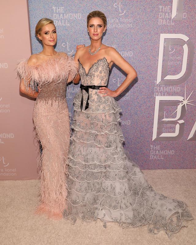 Rihanna Diamond Ball Paris Hilton