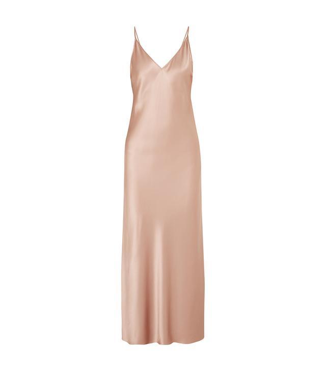 Clea Silk-satin Maxi Dress