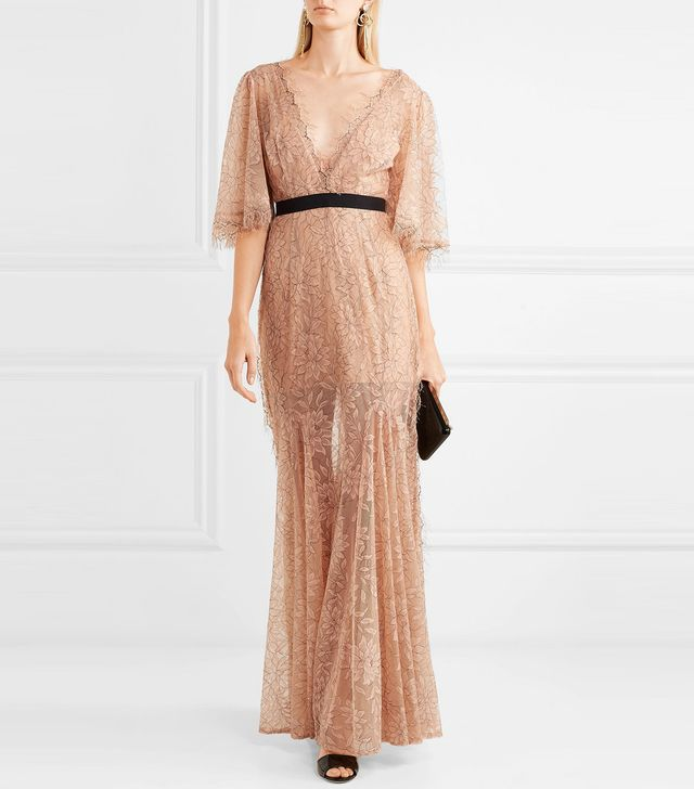 Look Good Feel Good Lace Gown