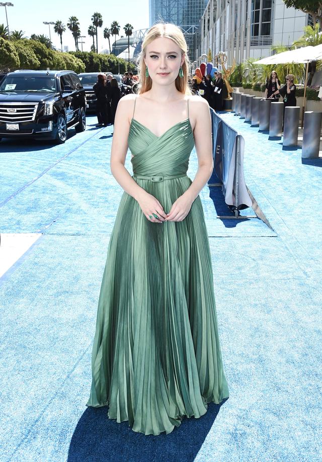 Dakota Fanning at 2018 Emmy Awards