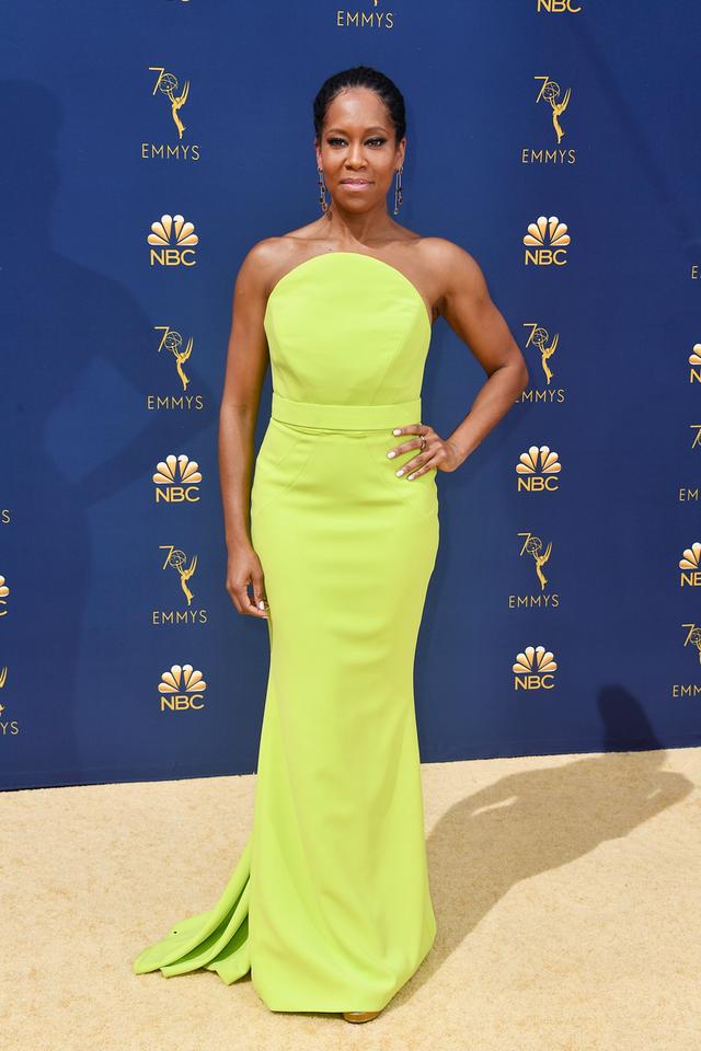 Regina King 2018 Emmy Awards dress