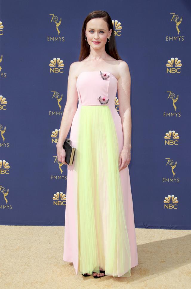 Alexis Bledel 2018 Emmy Awards dress