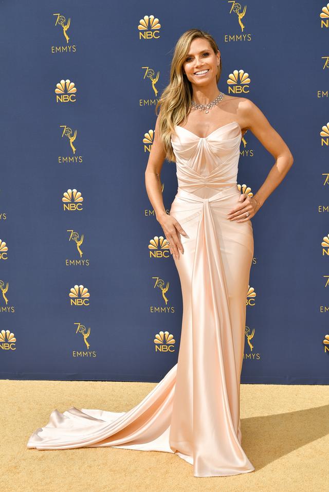 Heidi Klum 2018 Emmy Awards dress