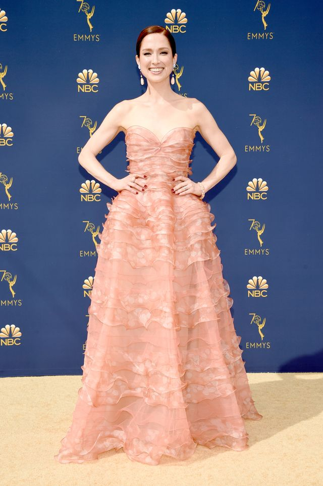 Ellie Kemper 2018 Emmy Awards dress