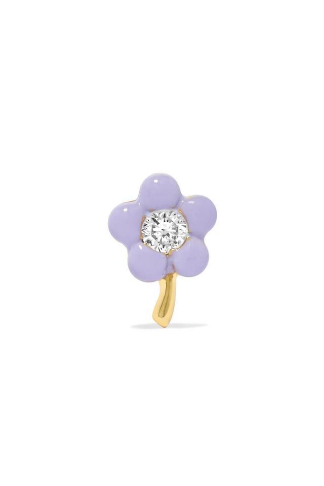 Tiny Flower 14-karat Gold