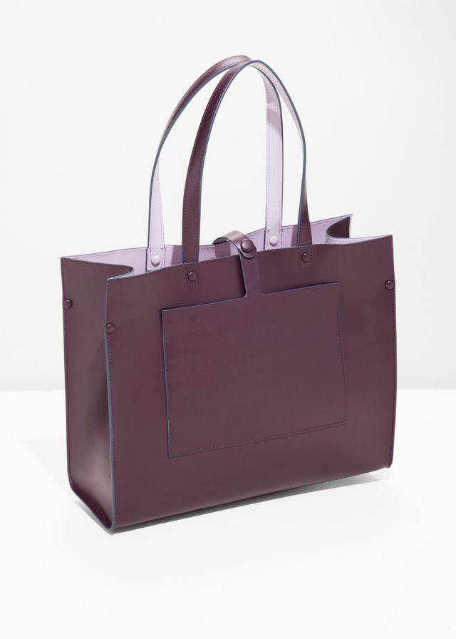 & Other Stories Duo Toned Tote Bag