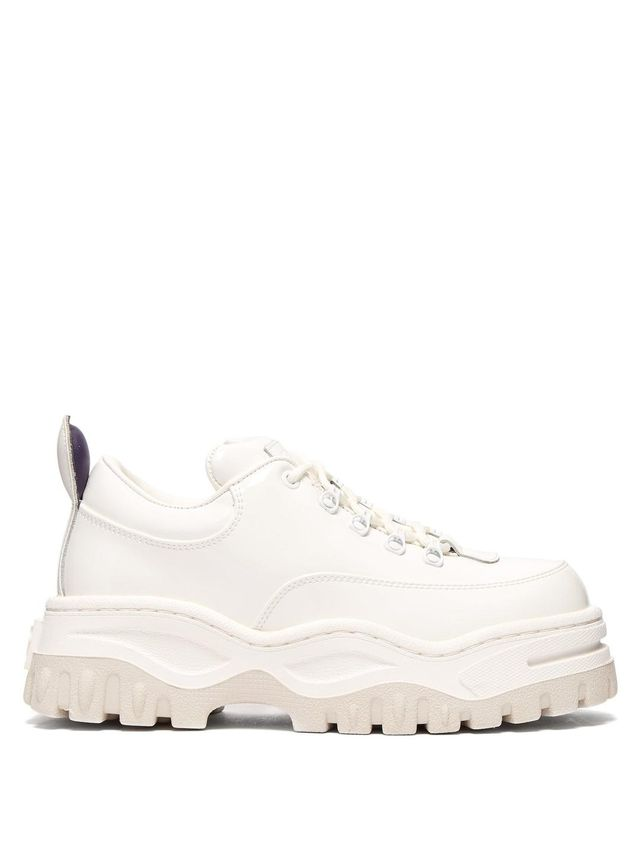 Angel Patent-Leather Low-Top Trainers