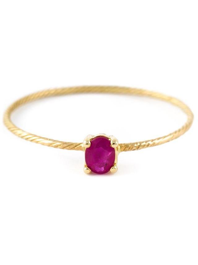 'Ruby' ring