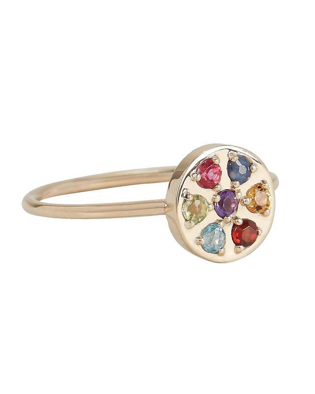 Ariel Gordon Fleur Ring Gold 6