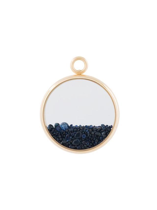 'Chivoir' sapphire large pendant