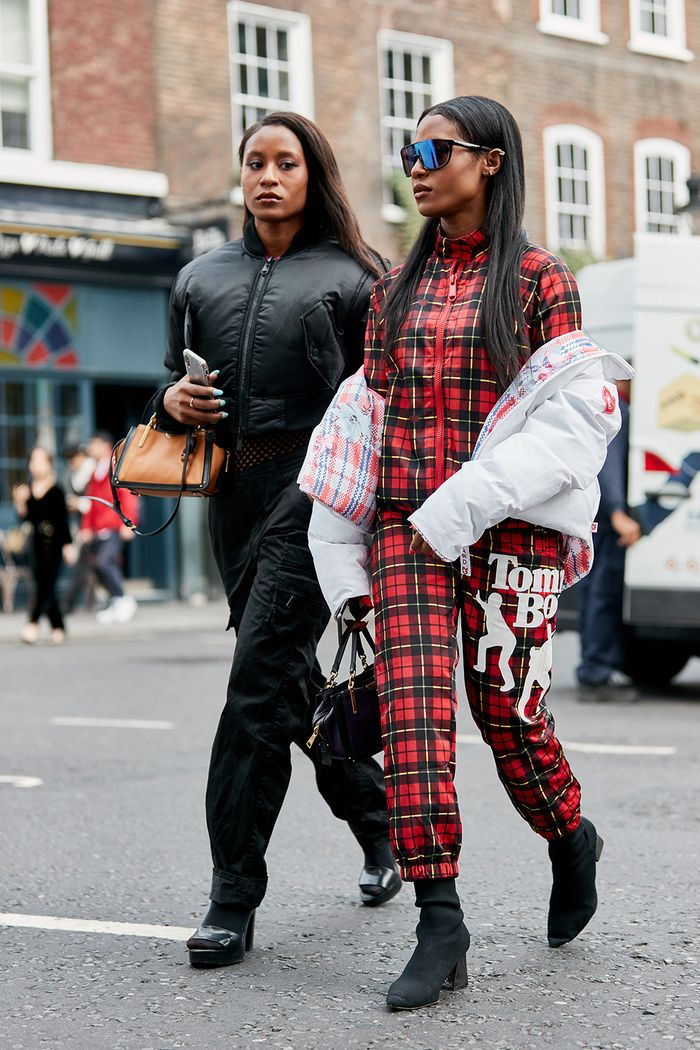 The Latest Street Style From London Fashion Week Who What Wear Uk