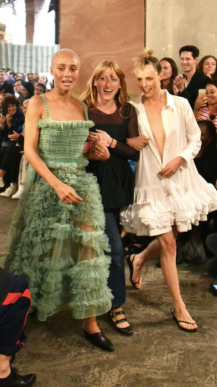 High-Street Shoes on the Runway Thank You for That, Molly Goddard