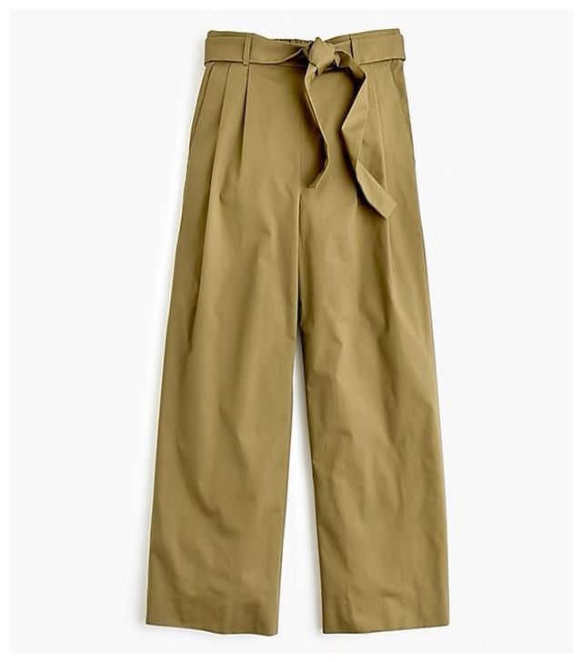 J.Crew Wide-Leg Cropped Pants