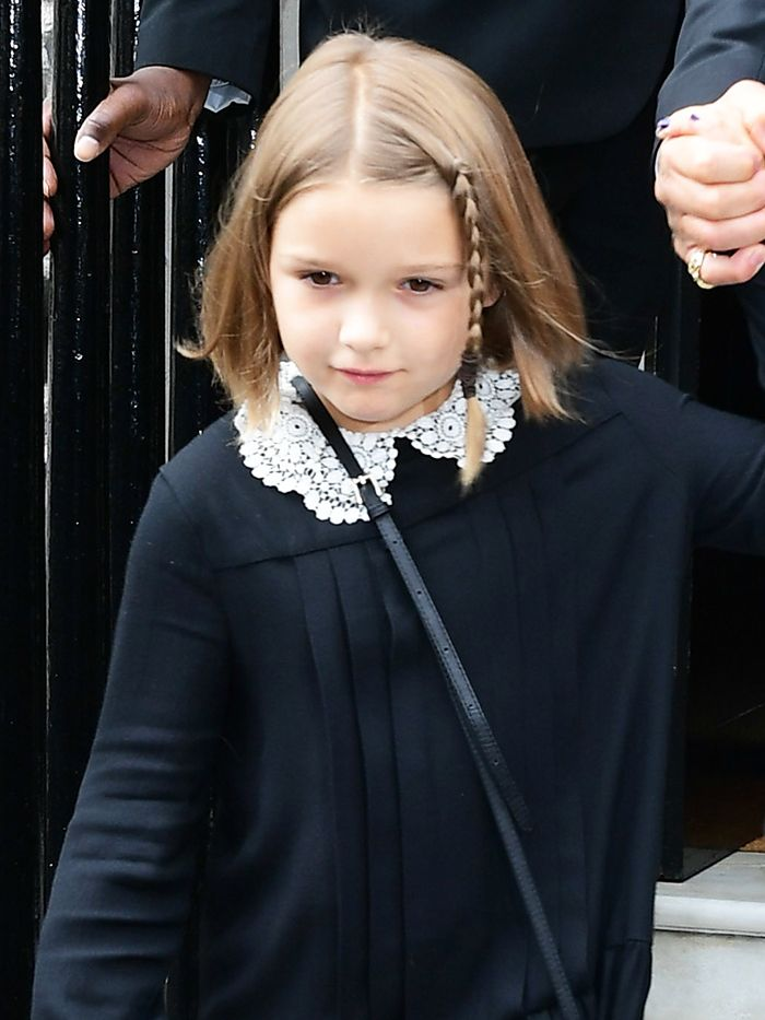 If You Do Nothing Else Today, Look at This Cute Picture of Harper Beckham