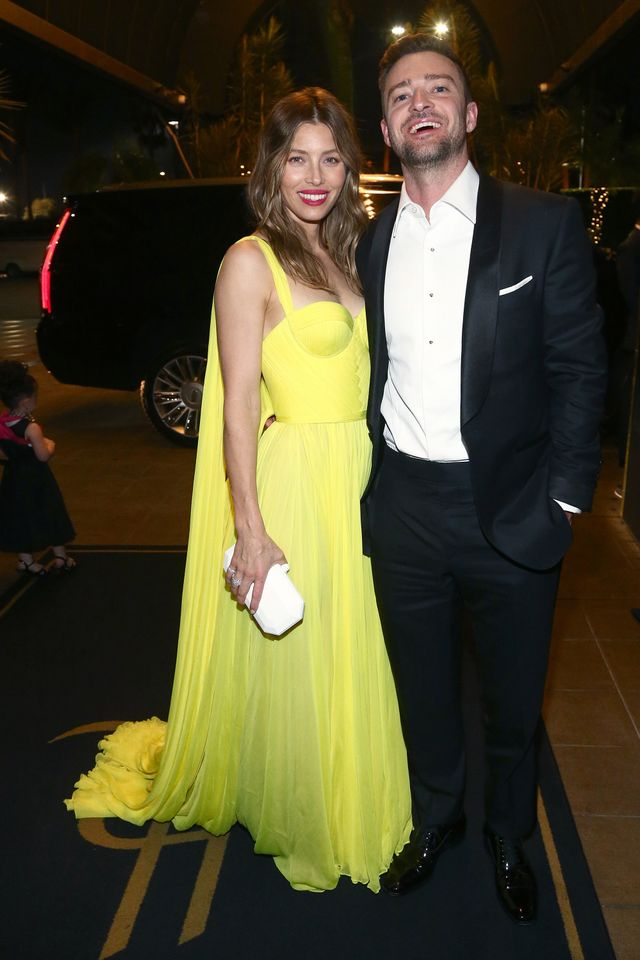 Emmys After-Parties Jessica Biel Justin Timberlake