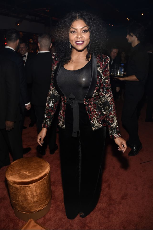 Taraji P. Henson at the Emmys After-Parties