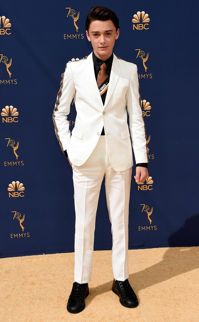 Most Stylish Boys at the Emmys 2018—Noah Schnapp