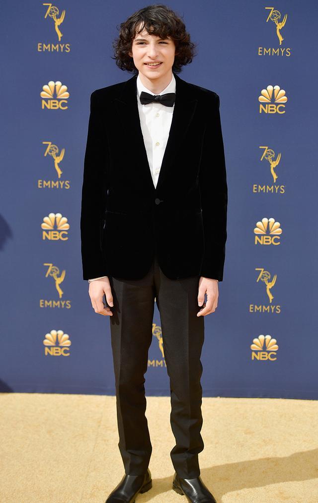 Most Stylish Boys at the Emmys 2018—Finn Wolfhard