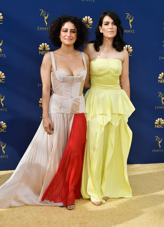 Abbi Jacobson Emmys red carpet