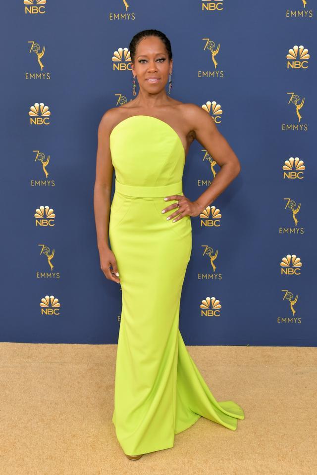 Regina King Emmy Awards red carpet