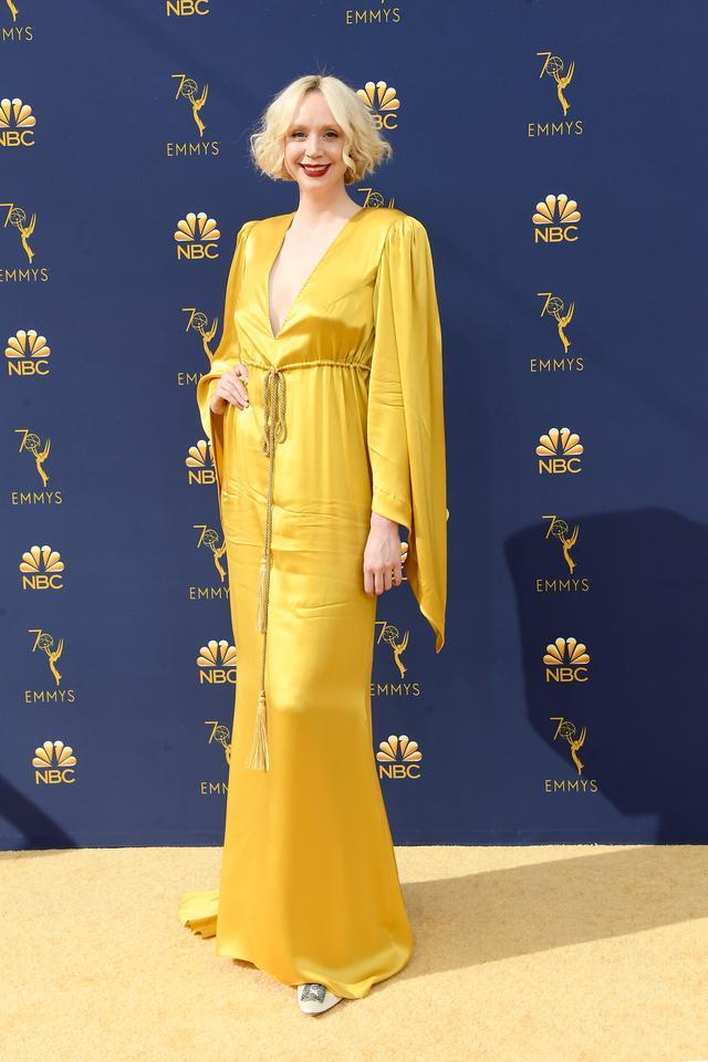 Gwendoline Christie Emmys red carpet