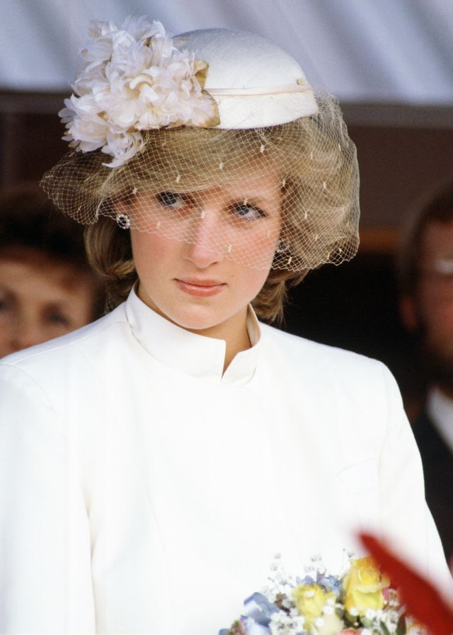 Princess Diana Wearing Hats