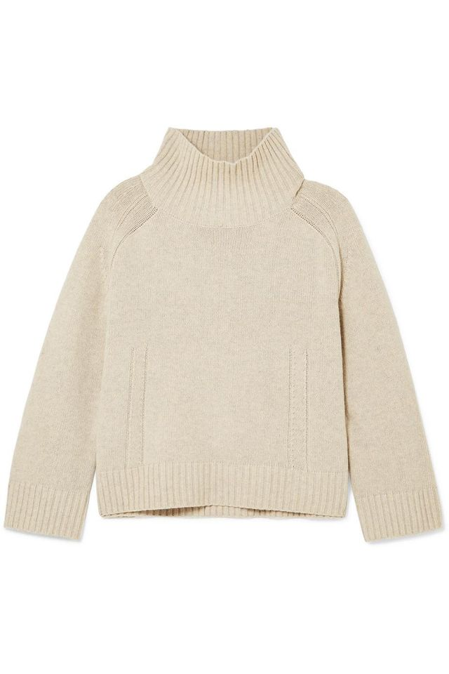 Aleya Oversized Wool-blend Turtleneck Sweater