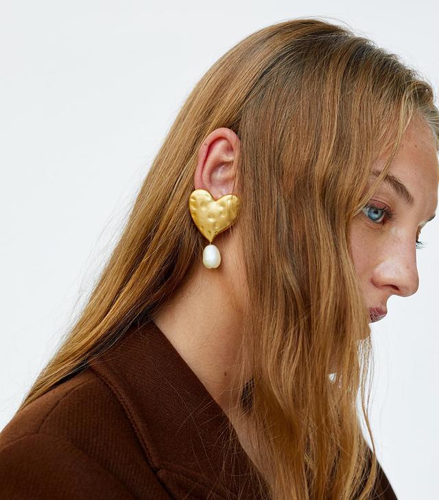 Zara Heart Earrings
