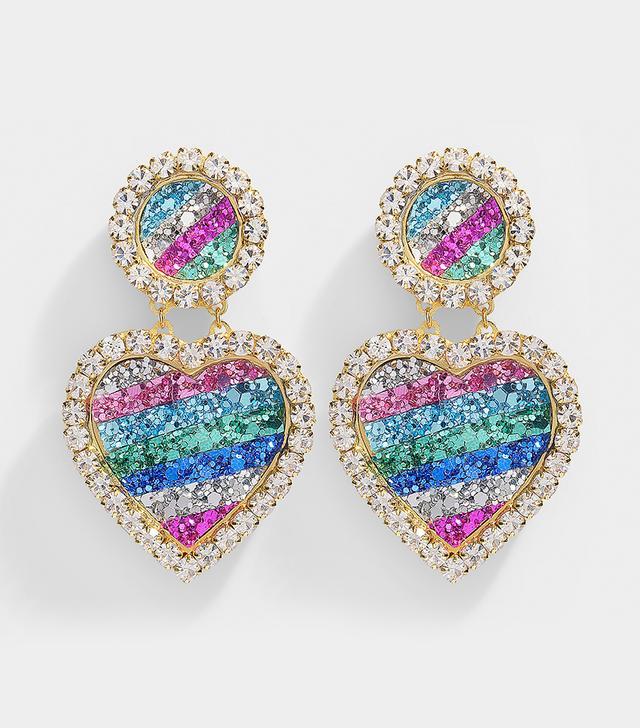 Shourouk Mini Marilyn Rainbow Earrings