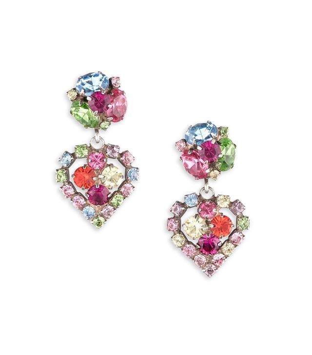 Dannijo Tansy Crystal Earrings