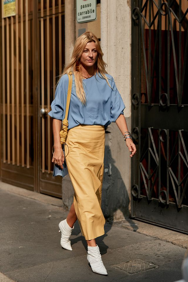street style from fashion week