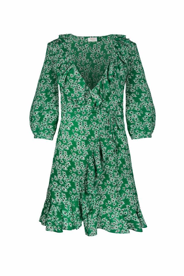 Rixo London Abigal Mini Wrap Dress