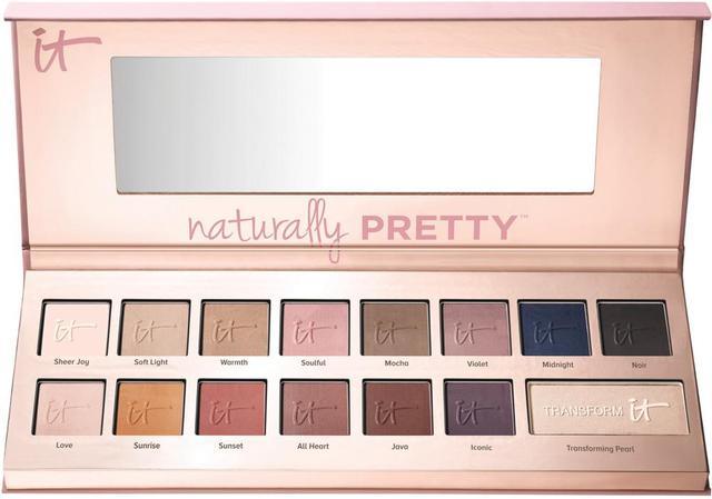 Naturally Pretty Vol 1 Matte Luxe Transforming Eyeshadow Palette
