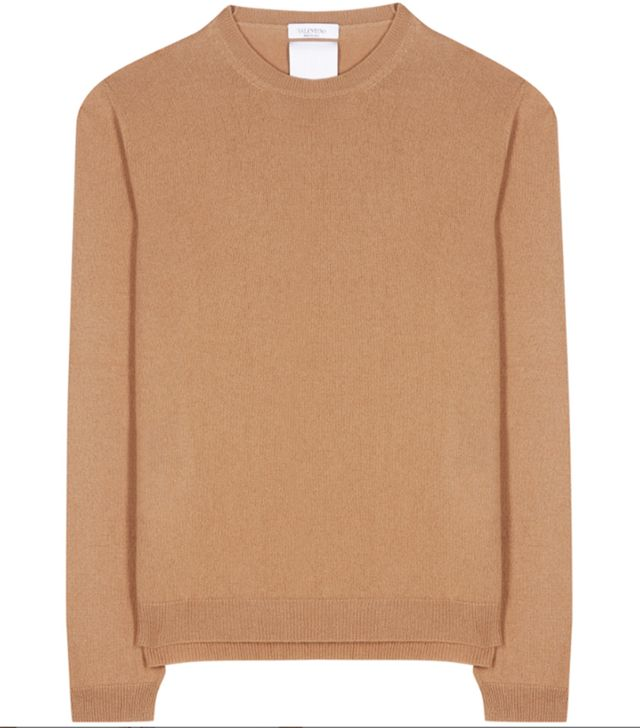 Valentino Rockstud Untitled Cashmere Sweater