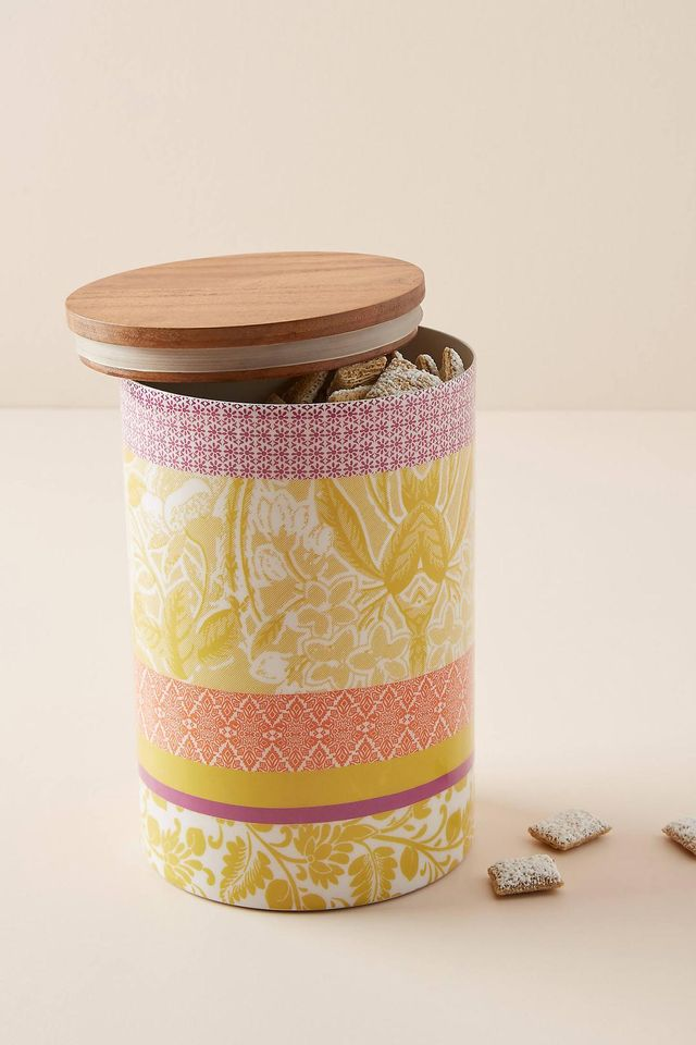 Jacquard Canister