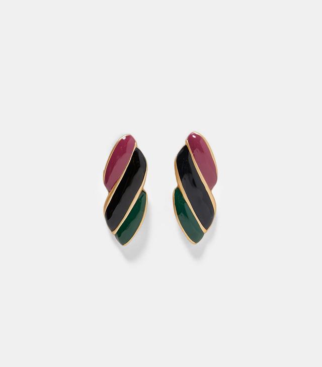 Zara Tricolor Earrings